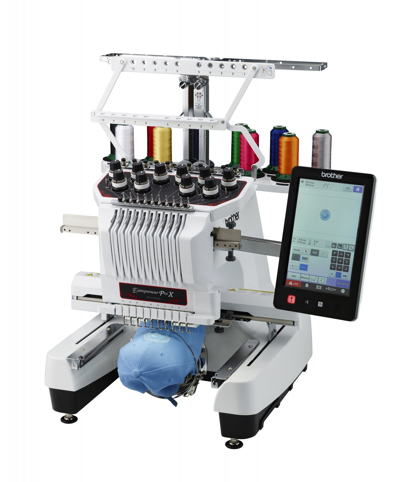 Brother Entrepreneur Pro X PR1050X - 10 needle embroidery only machine