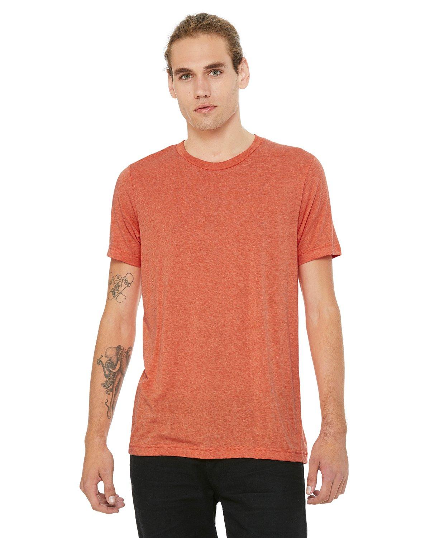 Bella Canvas Heather ORANGE Soft Style Unisex T-Shirt