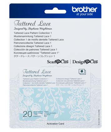 SNC Tattered Lace Pattern Collection 1 CATTLP01