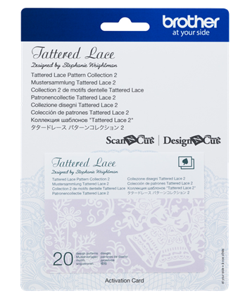 SNC Tattered Lace Pattern Collection 2 CATTLP02
