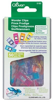 Wonder Clips Assorted Colors 50 count CL3183