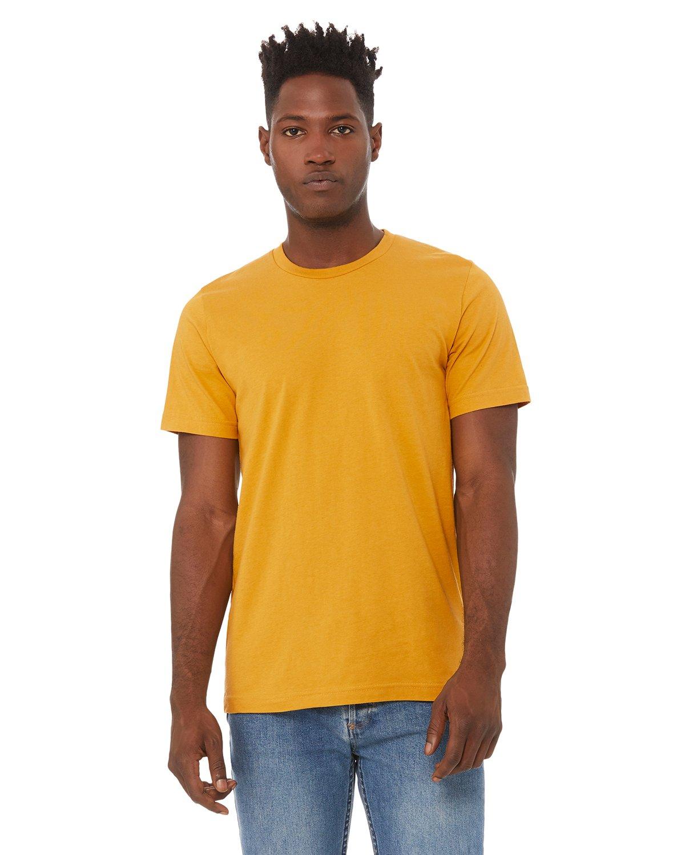 Bella Canvas MUSTARD Soft Style Unisex Jersey T-Shirt