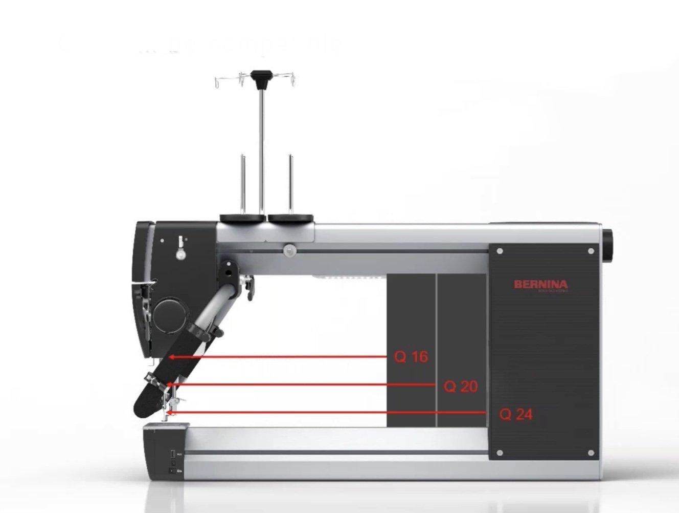 Bernina Q16 with Folding Table