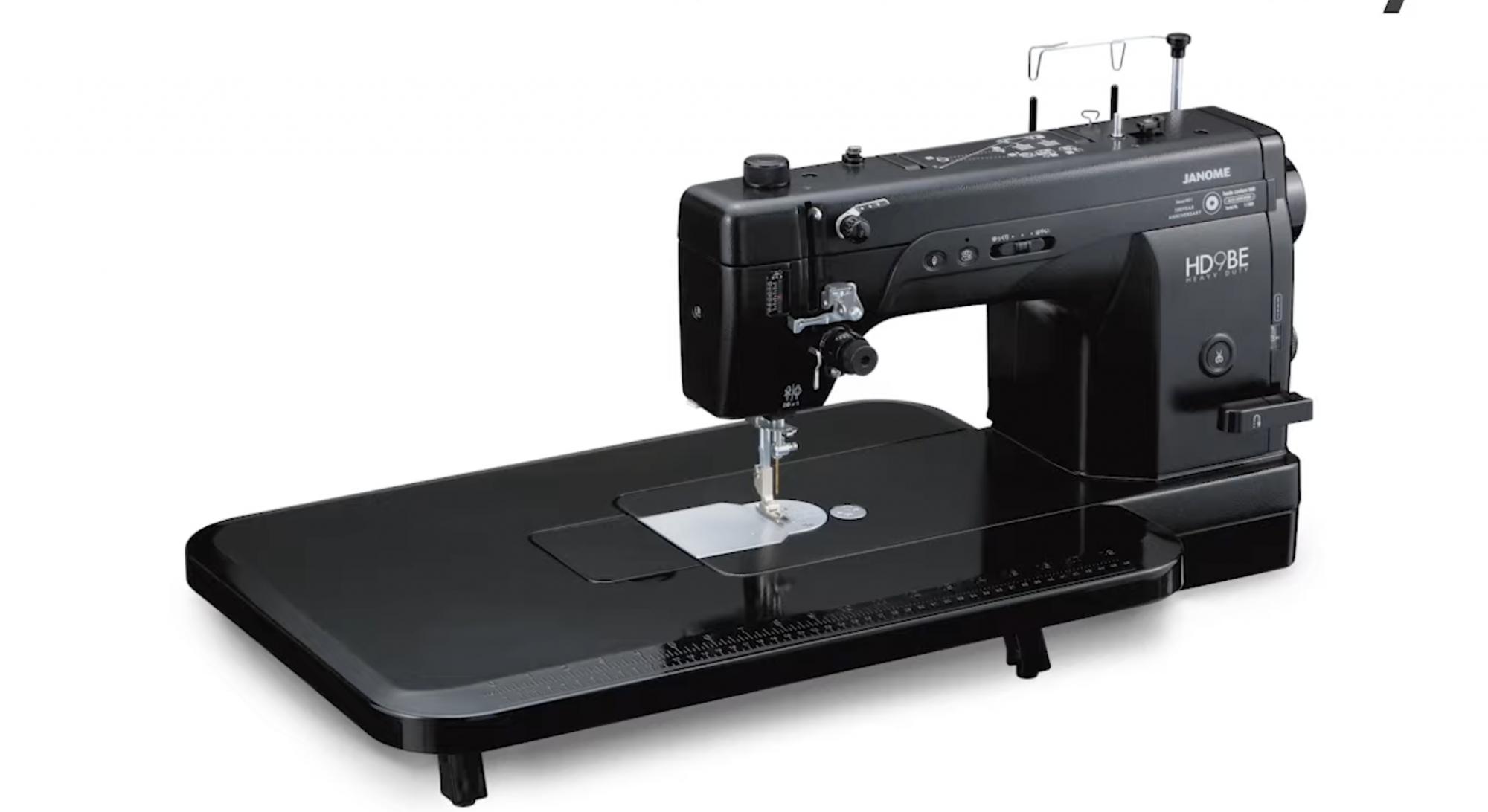 Janome HD9 Black Edition Professional Straight Stitch