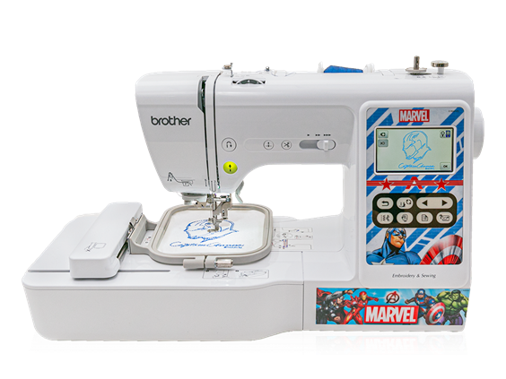 Brother LB5000M Marvel Computerized Sewing & Embroidery Machine