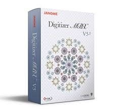 Janome Digitizer MBX V5.5 Upgrade from V5 Software