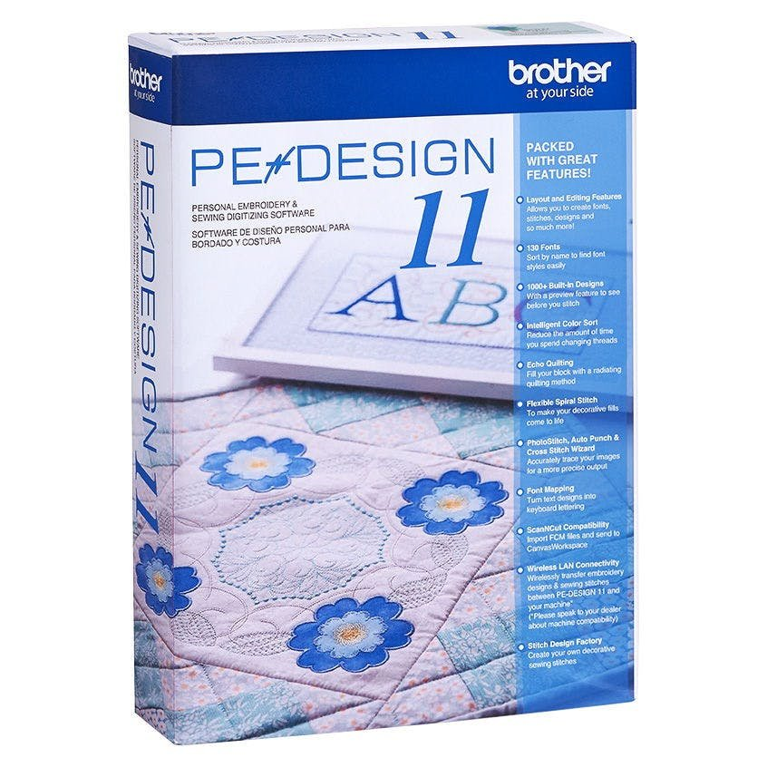 Brother PE Design 11 Digitizing Software