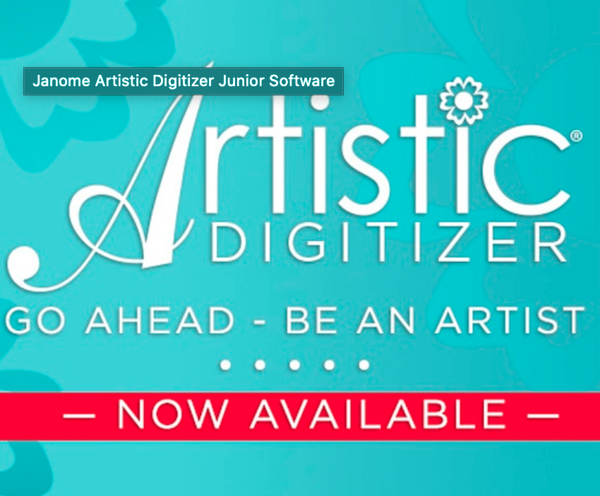 Janome Artistic Digitizing JR Software