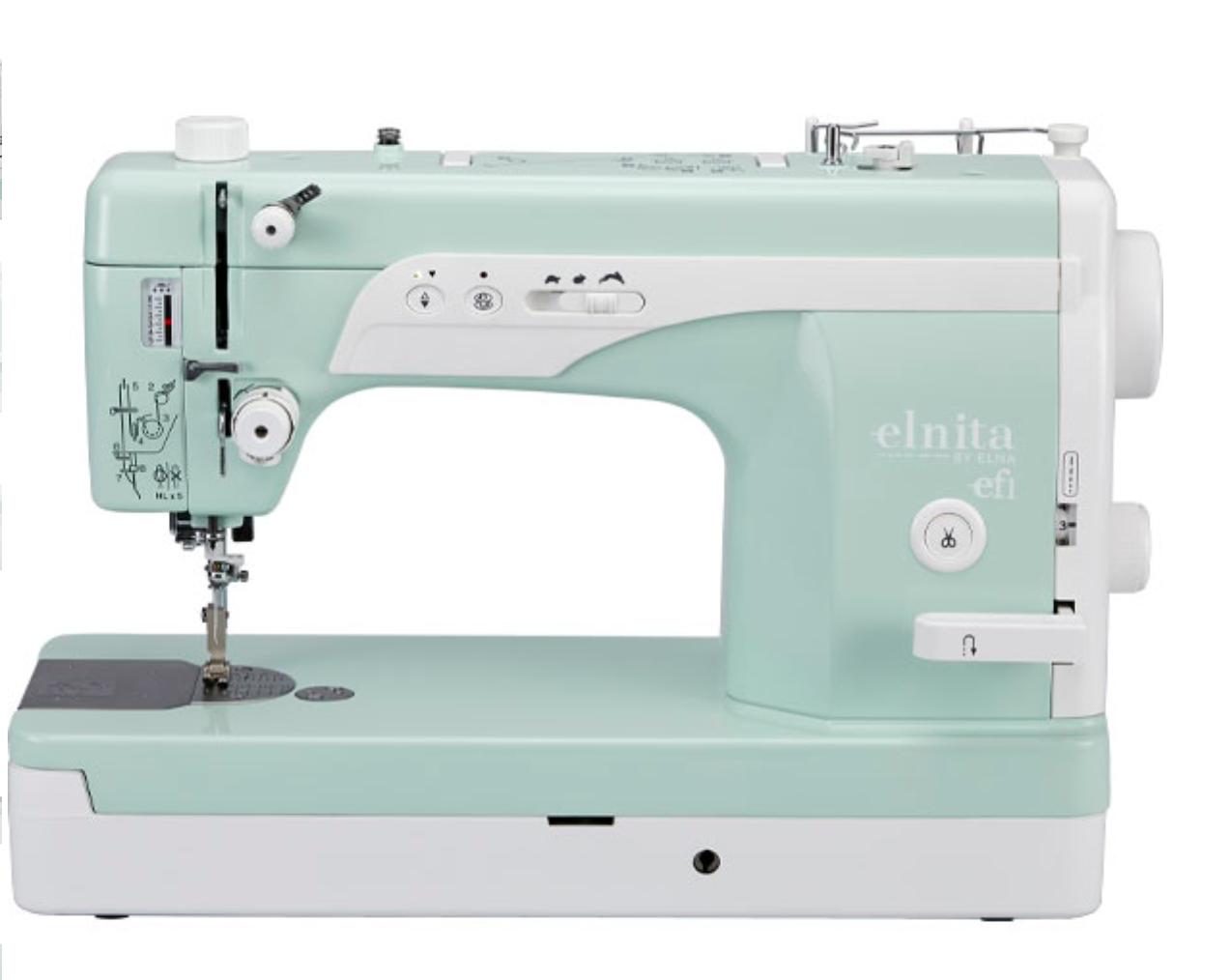 Elna EF1 High Speed Straight Stitch Sewing Machine