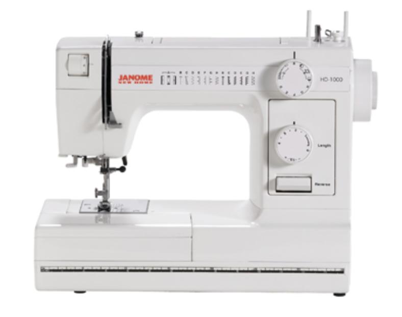 Janome HD1000 - WHITE EDITION