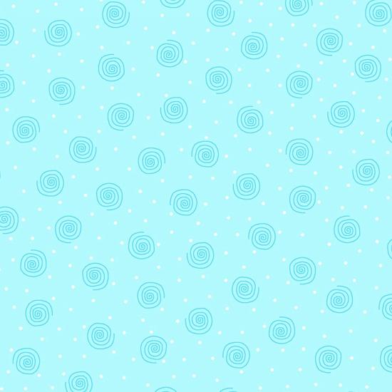 Blue Swirl Flannel