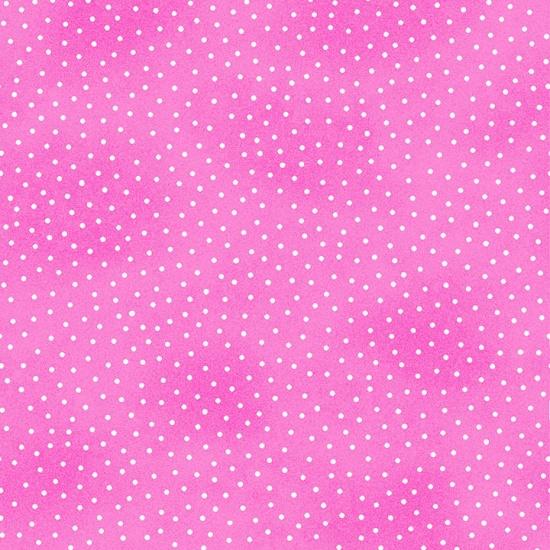 Pink Mini Dots Comfy Flannel