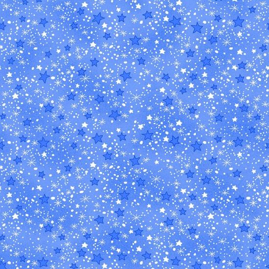 Blue Comfy Flannel Prints 9831-11