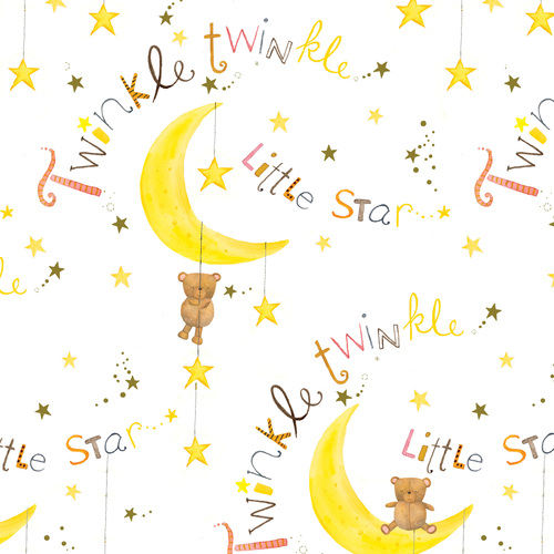 Comfy Flannel Print Twinkle Twinkle