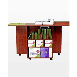 AccuQuilt GO! Quilt Block Center Cutting Cabinet-Sunset Maple