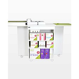GO! Quilt Block Center Cutting Cabinet-White