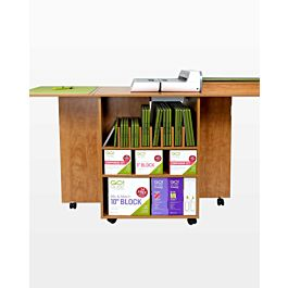 AccuQuilt GO! Quilt Block Center Cutting Cabinet-Sunrise Maple - 50911