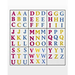 *GO! Classic 2 Alphabet Uppercase Embroidery Designs
