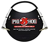 Pig Hog 1ft 1/4inch Right Angle - 1/4inch Right Angle 8mm Inst