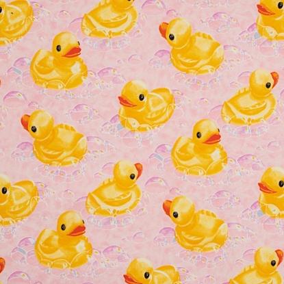 Rub-A-Dub Ducky-Pink