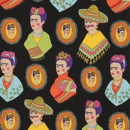 Fantastico Frida! 8213B/Black  (Alexander Henry)