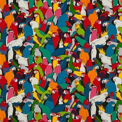 Alexander Henry Rainbow Parrot 8656