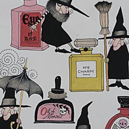 Haunted House - Lotions & Potions - #8666-A