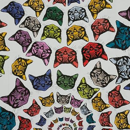 Alexander Henry Fabriucs Cat-finity-8667A