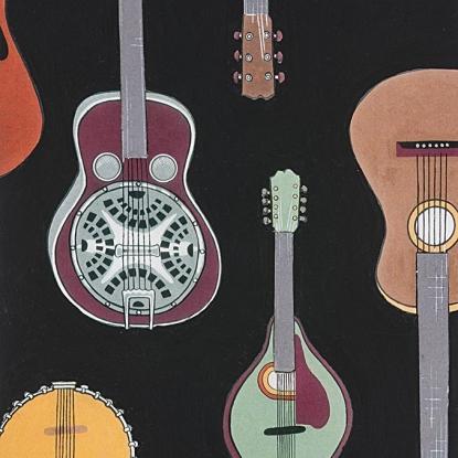 Strings! Black