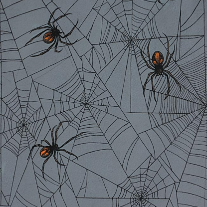 Tangled Web/Charcoal: Haunted House