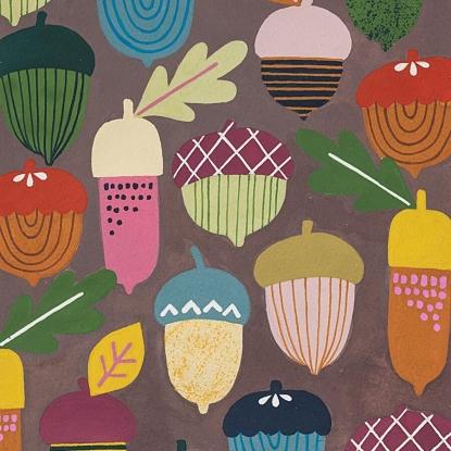 Autumn Acorn/Mushroom
