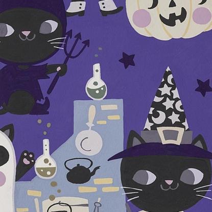 Costume Kitty - Blue Purple 8829C
