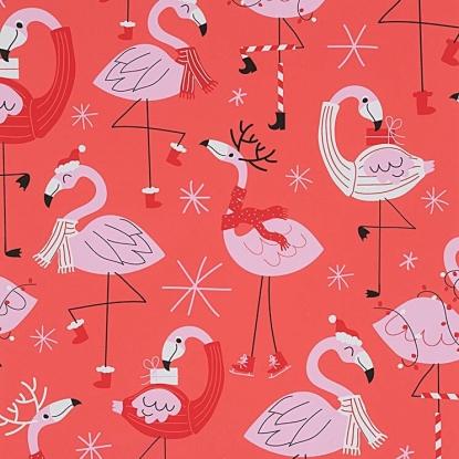 Alexander Henry Christmas Time Fa La La Flamingo-8840A