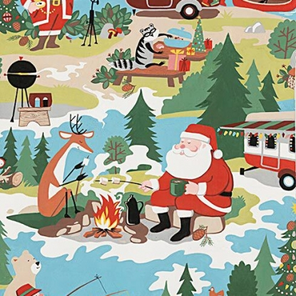 Christmas Time - Santa Goes Glamping