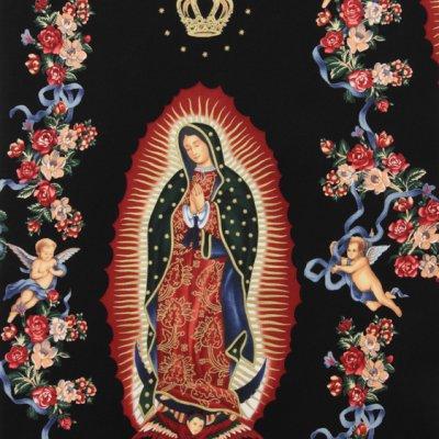 Virgin of Guadalupe Black