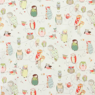 Alexander Henry In the Kitchen - Spotted Owl, Natural, 6974AR