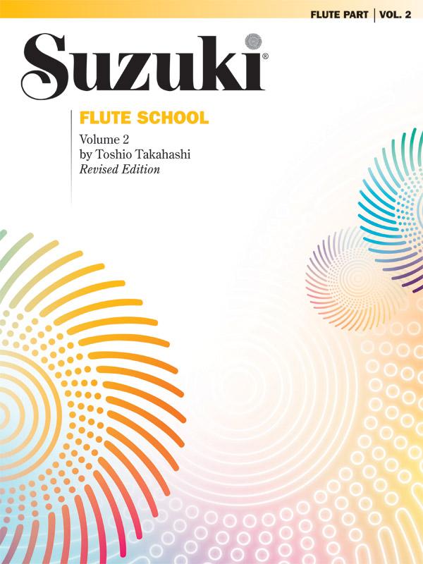 SUZUKI FLUTE SCHOOL 2 FLUTE PART TAKAHASHI (0167S ) (Flute Methods )