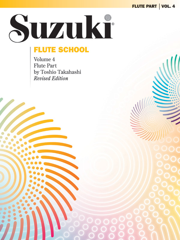 SUZUKI FLUTE SCHOOL 4 SOLO PART TAKAHASHI (0171S ) (Flute Methods )