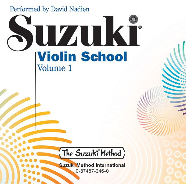 Suzuki Violin Vol 1 Book & CD
