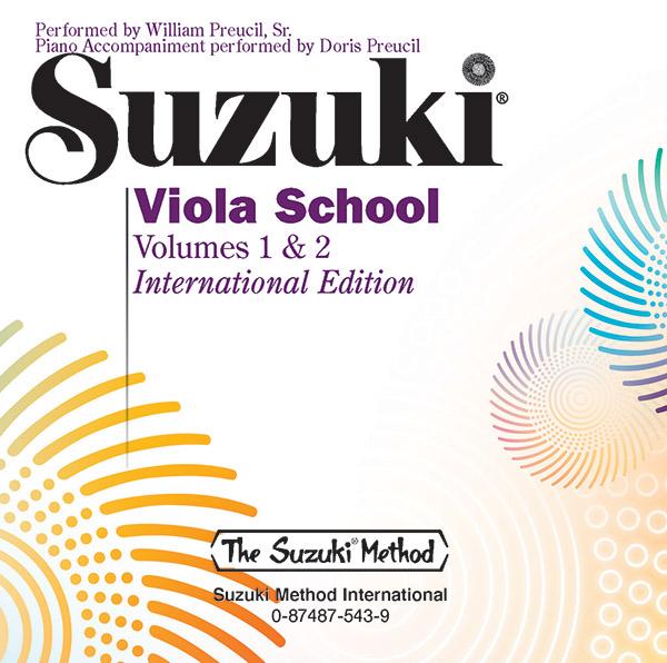 Suzuki Viola School CD Volume 1 & 2