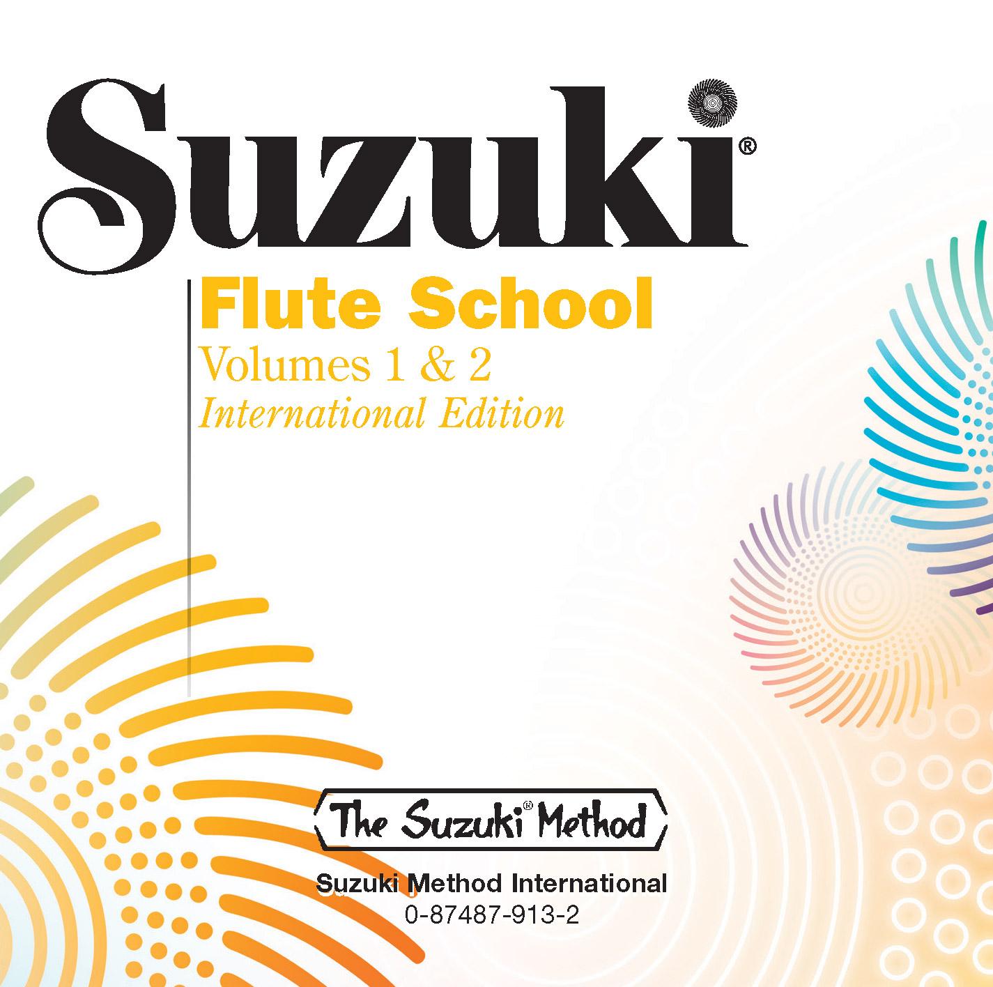 SUZUKI FLUTE SCHOOL 1 & 2 CD (0913 ) (Flute Methods )