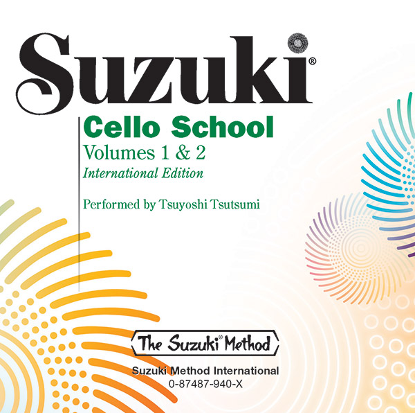 Suzuki Cello School CD Volume 1 & 2
