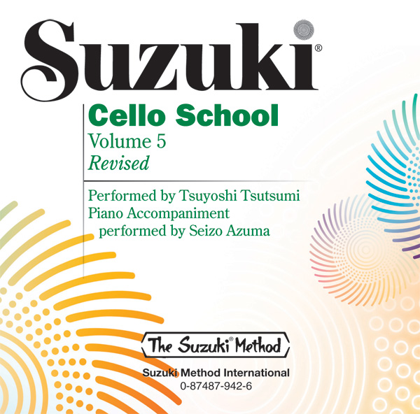 Suzuki Cello School CD Volume 5