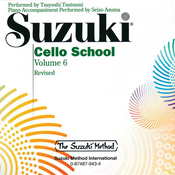 Suzuki Cello School CD Volume 6