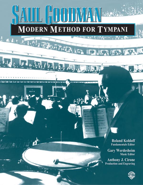 MODERN METHOD FOR TIMPANI GOODMAN (11424A ) (Timpani Methods )