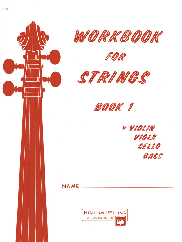WORKBOOK FOR STRINGS 1 VIOLIN ETLING