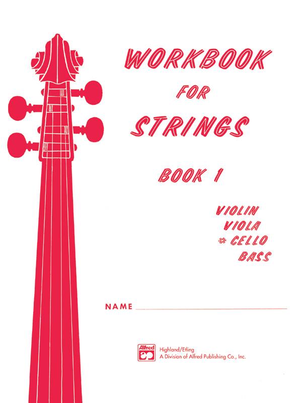 WORKBOOK FOR STRINGS 1 CELLO ETLING