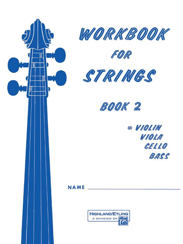 WORKBOOK FOR STRINGS 2 VIOLIN ETLING