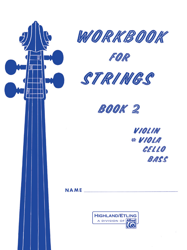 WORKBOOK FOR STRINGS 2 VIOLA ETLING