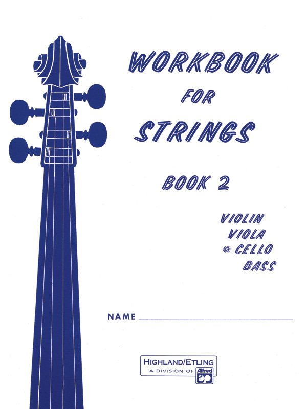 WORKBOOK FOR STRINGS 2 CELLO ETLING